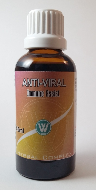 A blend of herbs to fight off viruses.